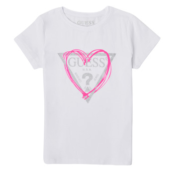 material Girl short-sleeved t-shirts Guess K1RI00-K6YW1-TWHT White