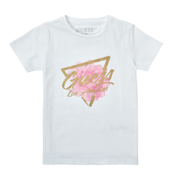 material Girl short-sleeved t-shirts Guess K1RI14-K6YW1-TWHT White