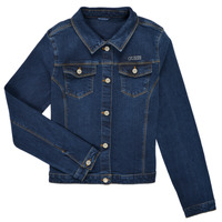 material Girl Denim jackets Guess J81L21-D29H0-BMEW Blue