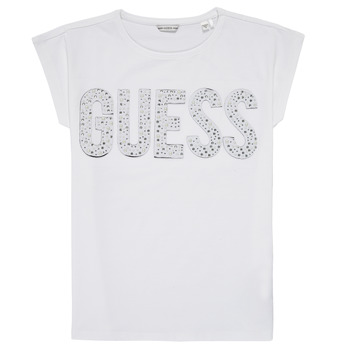 material Girl short-sleeved t-shirts Guess J1RI34-K6YW1-TWHT White