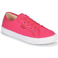 Shoes Women Low top trainers Levi's MALIBU BEACH S Pink