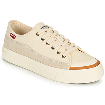 Shoes Women Low top trainers Levi's SQUARE LOW S White