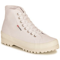Shoes Women High top trainers Superga 2341 ALPINA COTU White