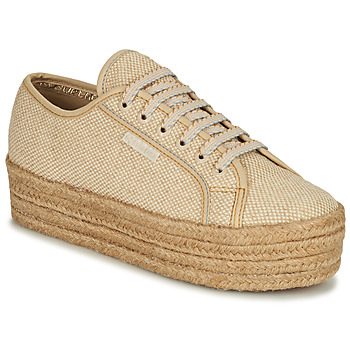 Shoes Women Low top trainers Superga 2790 JUTECOTROPEW Beige