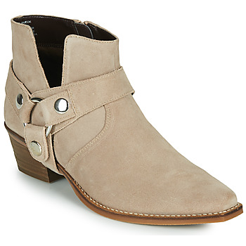Shoes Women Boots Steve Madden GOLDA Beige
