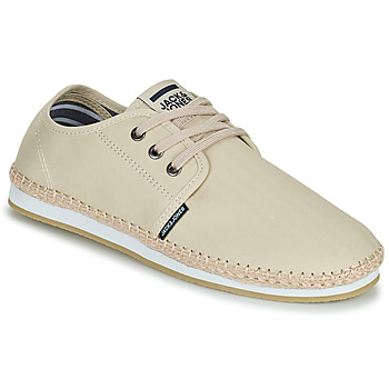 Shoes Men Espadrilles Jack & Jones JFW DRAX TEXTILE Ecru