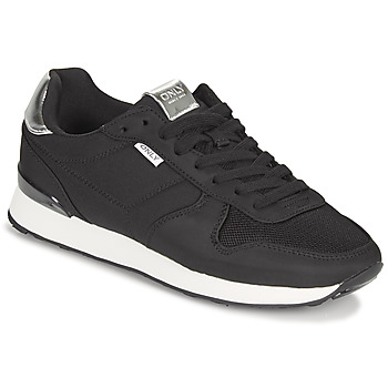 Shoes Women Low top trainers Only SAHEL 4 Black / Silver