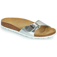 Shoes Women Mules Only MADISON METALLIC Silver