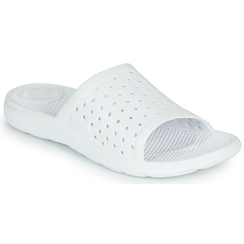 Shoes Women Sliders Isotoner TOULA White