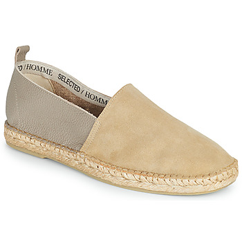 Shoes Men Espadrilles Selected AJO NEW MIX Sable