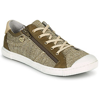 Shoes Women Low top trainers Pataugas BOMY F2G Gold / Kaki