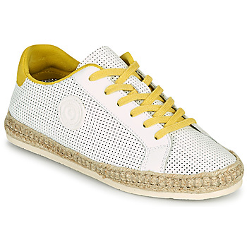 Shoes Women Espadrilles Pataugas PALOMA F2F White / Yellow