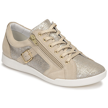 Shoes Women Low top trainers Pataugas PAULINE/T F2G Beige / Gold