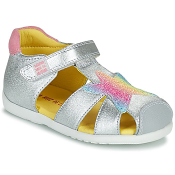 Shoes Girl Sandals Agatha Ruiz de la Prada HAPPY Silver