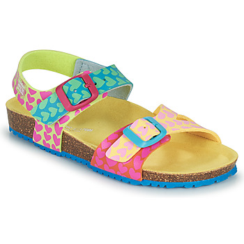 Shoes Girl Sandals Agatha Ruiz de la Prada BIO Blue / Pink