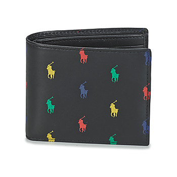 Bags Men Wallets Polo Ralph Lauren MULTI PP BF WALLET Black