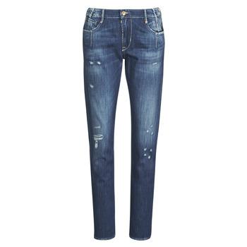 material Women Boyfriend jeans Le Temps des Cerises 200/43 LIOR Blue