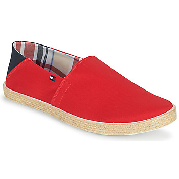 Shoes Men Espadrilles Tommy Hilfiger EASY SUMMER SLIP ON Red