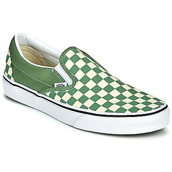 Shoes Men Slip ons Vans CLASSIC SLIP ON Green