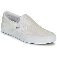 Shoes Women Slip ons Vans CLASSIC SLIP ON Glitter / Beige / Pink