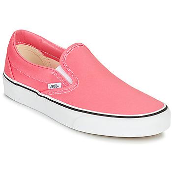 Shoes Women Slip ons Vans CLASSIC SLIP ON Pink