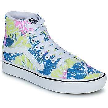 Shoes Women High top trainers Vans COMFYCUSH SK8 HI Multicolour