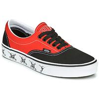 Shoes Low top trainers Vans ERA Black / Red