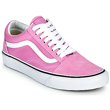 Shoes Women Low top trainers Vans OLD SKOOL Lilac