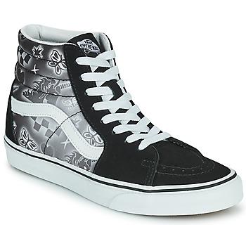 Shoes Women High top trainers Vans SK8 HI Black / White