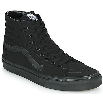 Shoes Men High top trainers Vans SK8 HI Black