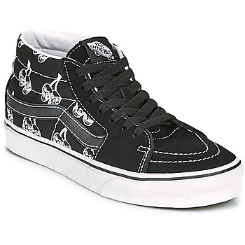 Shoes High top trainers Vans SK8 MID Black / White