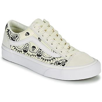 Shoes Low top trainers Vans STYLE 36 Beige / Black