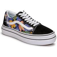 Shoes Women Low top trainers Vans SUPER COMFYCUSH OLD SKOOL Black / Flower