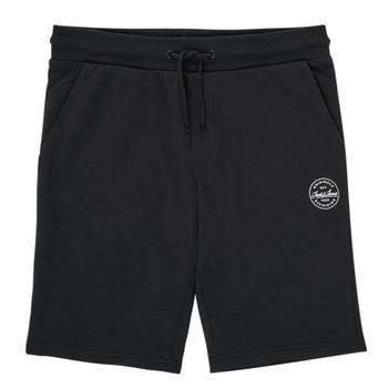 material Boy Shorts / Bermudas Jack & Jones JJI SHARK JJSWEAT Black