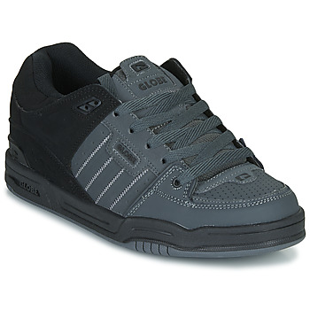 Shoes Men Low top trainers Globe FUSION Grey / Black