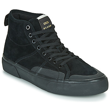 Shoes Men High top trainers Globe LOS ANGERED II Black