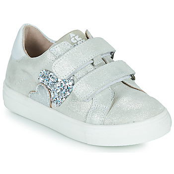 Shoes Girl Low top trainers Acebo's 5471-PLATA-C Silver