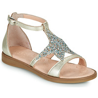 Shoes Girl Sandals Acebo's 9895GE-PLATINO-J Gold