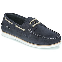Shoes Men Boat shoes Aigle NUBIL Blue