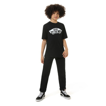 material Children short-sleeved t-shirts Vans VANS CLASSIC TEE Black