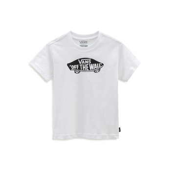 material Children short-sleeved t-shirts Vans VANS CLASSIC TEE White