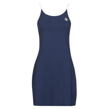 material Women Short Dresses Fila HOPE Marine