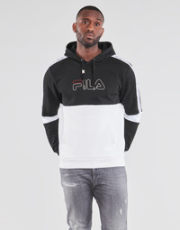 material Men sweaters Fila JADON Black / Grey / White