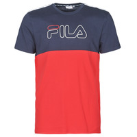 material Men short-sleeved t-shirts Fila JOPI Red / Marine