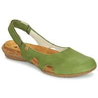 Shoes Women Sandals El Naturalista WAKATAUA Green