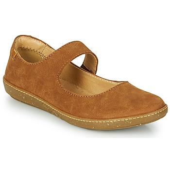 Shoes Women Ballerinas El Naturalista CORAL Brown