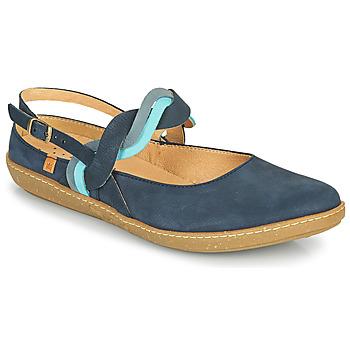 Shoes Women Ballerinas El Naturalista CORAL Marine