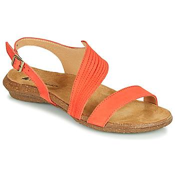 Shoes Women Sandals El Naturalista WAKATAUA Orange
