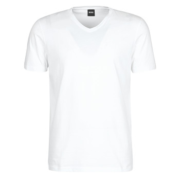 material Men short-sleeved t-shirts BOSS CANISTRO White