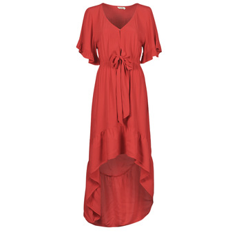 material Women Long Dresses Kaporal JING Fuschia